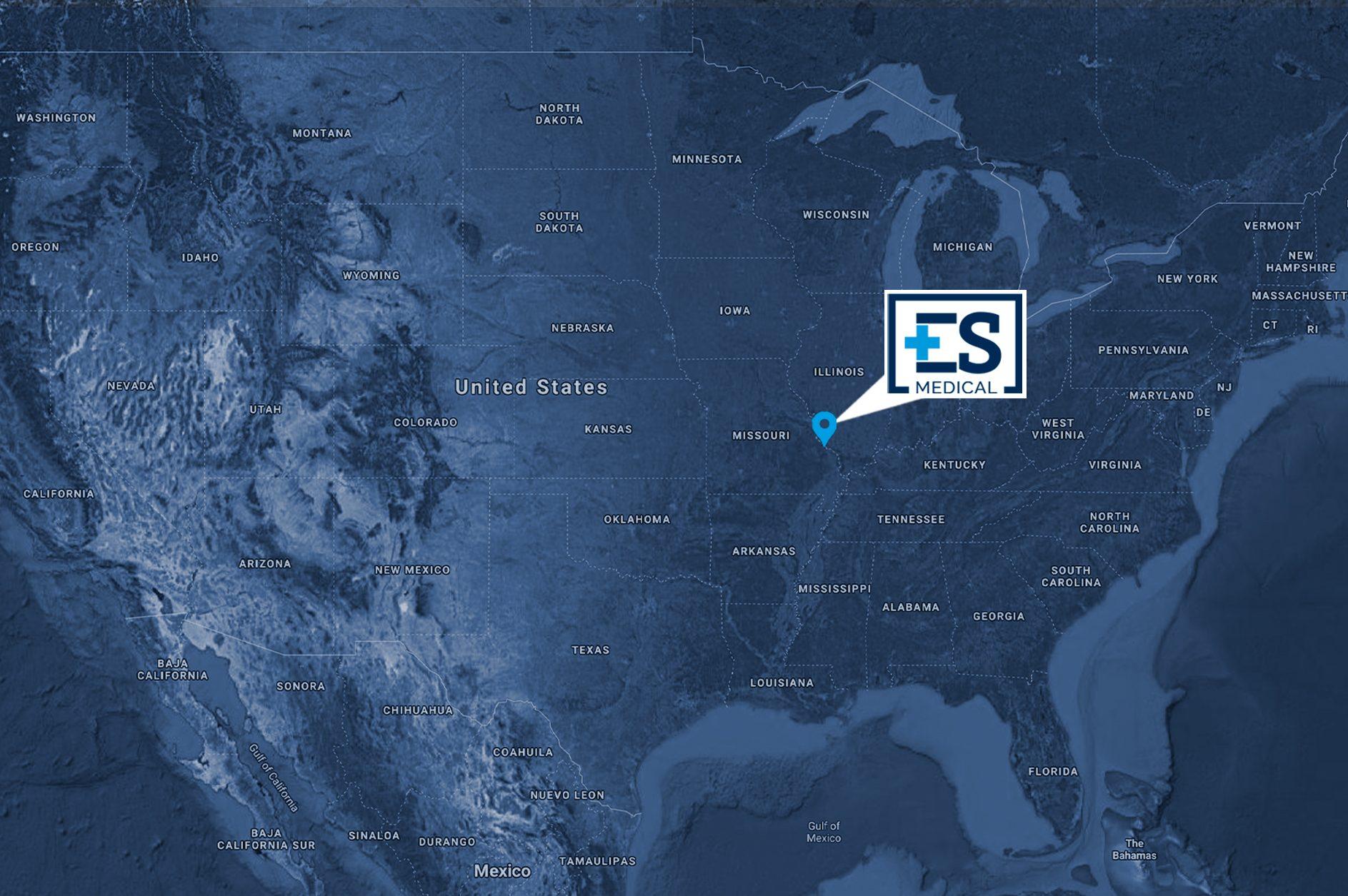 Eric Scott Map, Missouri