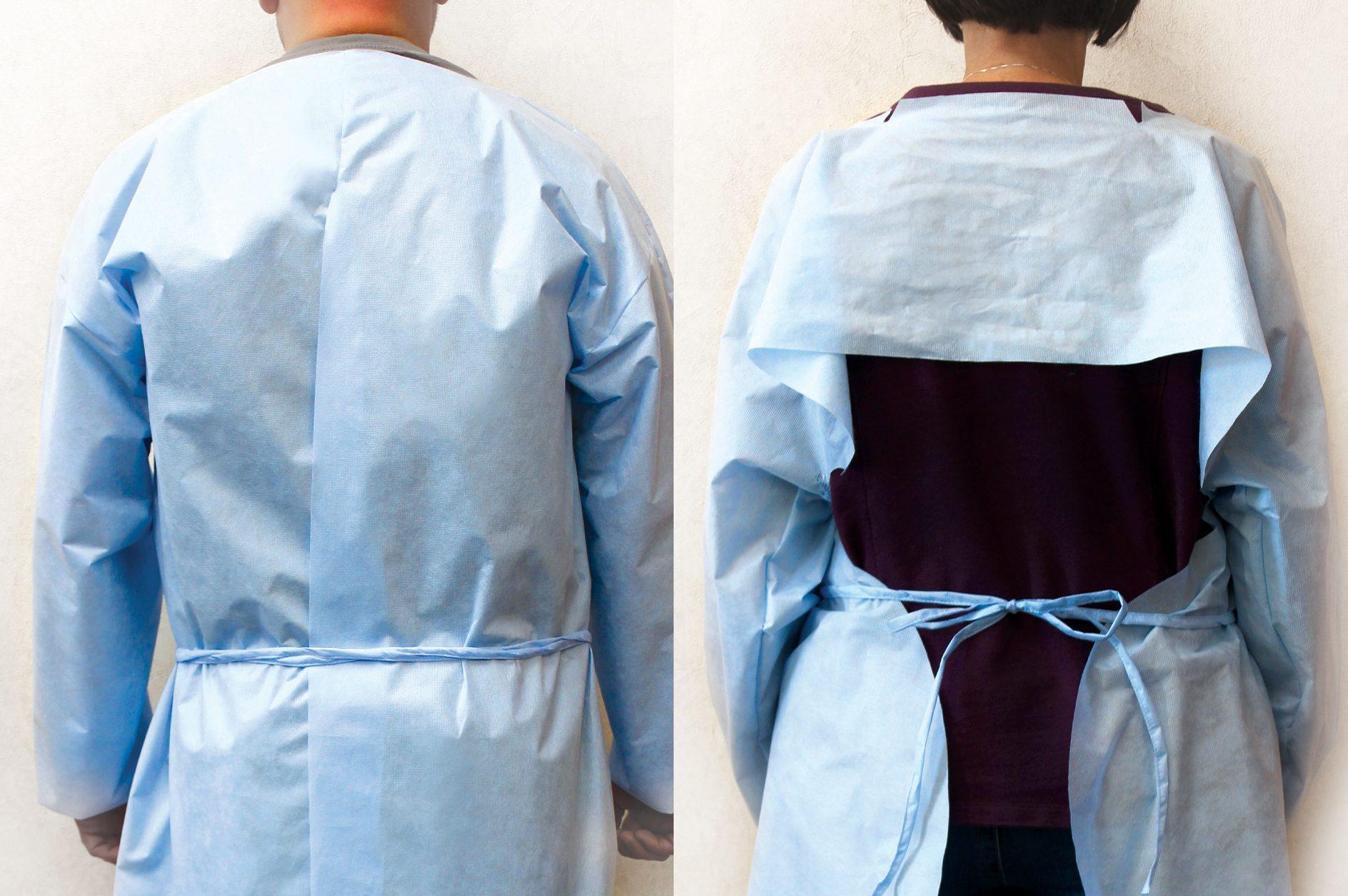 Medical Gown Backs